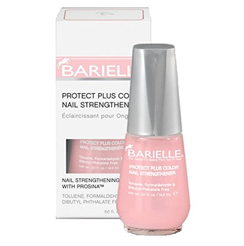 Barielle - Protect Plus Color Nail Strengthener - Pink - 14.8 mL / 0.5 oz - Pink-nail-strengthener