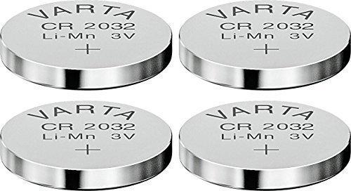 VARTA Lot de 4 Piles bouton lithium\