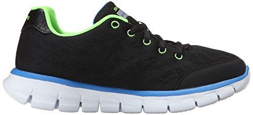 SkechersSynergy Fine Tune - Scarpe sportive outdoor Bambino Negro - Black (Black Lime)