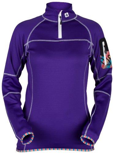 Sweet Protection Saviour T-shirt polaire à manches longues de ski pour femme Violet - Prune