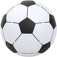 Bestway 14957, Pelota Hinchable Futbol Gigante, Multicolor(Blanco/Negro), diámetro