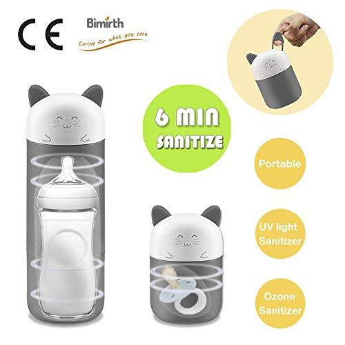 per esterilizadores beberones y chupetes de bebés esterilizador electrónico portátil infantil máquina de limpieza para botellas de ozono uv