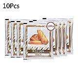 10 Pezzi Di Lievito Per Pane Lievito Secco Attivo Ad Alta Tolleranza Al Glucosio in Polvere Per Cottura in Cucina - 5 G Per Confezione