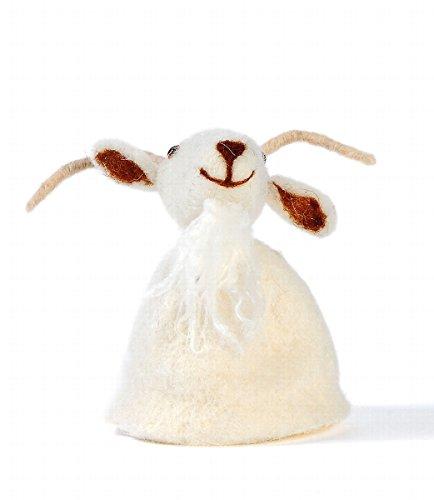 Eierwärmer Tiermotiv [ Gams ] für den fröhlichen Frühstückstisch 11cm