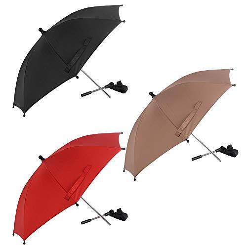 asterisknewly Kinderwagen Universal Umbrella Einstellbare Biege Sonnenschutz Clip Umbrella Baby Game Cart Zubehör -