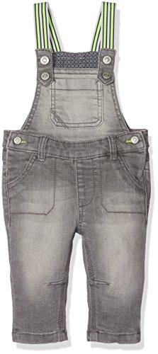 s.Oliver Baby-Jungen Latzhose 65.802.71.3140, Grau (Grey/Black Denim Stretch 95Z2), 86