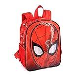 Karactermania Spiderman Spiderweb-Dual Rucksack (Klein) Zainetto per bambini, 32 cm, 9.25 liters, Rosso (Red)