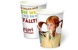 Oetinger Verlag Pippi (película) Vaso de Papel: 8Unidades