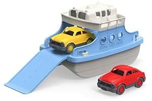 Green Toys FRBA-1038 – Fähre mit Fahrzeugen