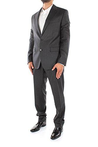 G1CDCTFR2PCS8051 Dolce&Gabbana Costumes Homme Laine Gris Gris