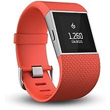 Fitbit Surge - Smartwatch, color naranja, talla S