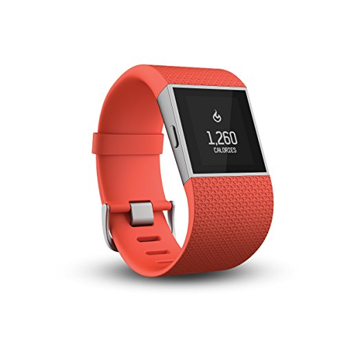 Fitbit Fitness Super Watch Surge Tangerine, Orange, S, FB501TAS-EU