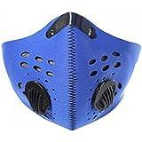 Lepakshi Blue Motor Bike Sport Mouth-Muffle Dustproof Dust Filter Anti-Polluti