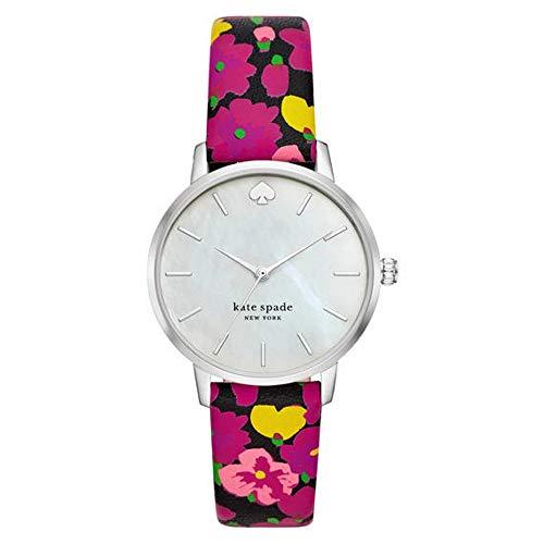 Reloj para Mujer Kate Spade con Correa de Cuero floreada KSW1512