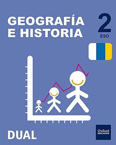 Inicia Dual Geografía E Historia. Libro Del Alumno Canarias - 2º ESO - 9780190503413