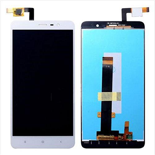 jiujinyi Xiaomi Redmi Note 3 für Ersatz Bildschirm LCD Display im Komplettset Digitizer Glas Touchscreen Reparatur(Nicht globale Version) (Weiß) (Lcd-screen-glas Digitizer)