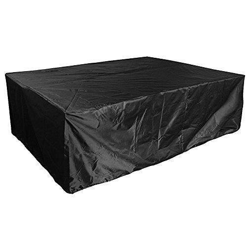 213*132*74cm Housse Jardin Bache de Protection Oxford Rectangulaire Couverture Cover pour Table Mobilier de Salon Extérieur