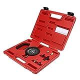 LinHut Kfz-Ersatzteile Vakuum & Kraftstoffpumpe Drucktester Manometer Test Tool Kit Vergaserventil