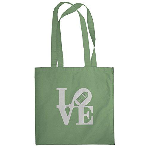 Texlab–Time Love–sacchetto di stoffa Oliva