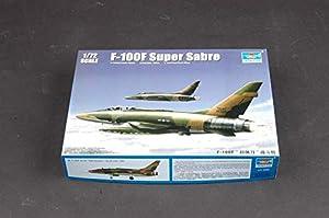Trumpeter TR 01650 - Maqueta de avión F100F Suber Sabre importado de Alemania