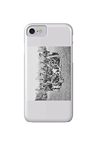 Fair Oaks, VA - Officers of the Horse Artillery Civil War Photograph (iPhone 7 Cell Phone Case, Slim Barely There)