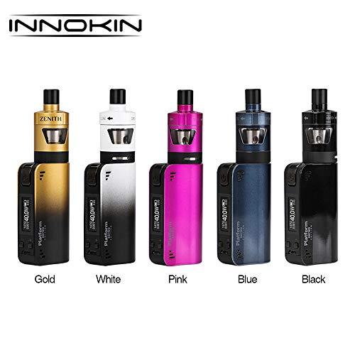 Electronic Cigarette Innokin CoolFire Mini Zenith D22 Kit, 40W CoolFire Mini VV/VW MOD + 2ml Zenith D22 Tank, No e Liquid, No Nicotine (Black)
