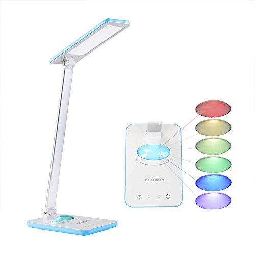 Idealeben Lámpara Escritorio/ LED de Control Multicolor Luz de la Noche /...