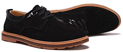 Fangsto  Shoes, Chaussures à lacets garçon homme Noir