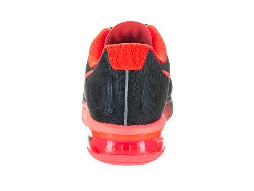 Nike Air Max Sequent, Chaussures de Running Entrainement Homme Noir (Black / Total Crimson)