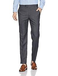 Park Avenue Men's Skinny Fit Formal Trousers