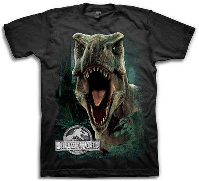 T-Rex Roar -- Jurassic World Adult T-Shirt, Small