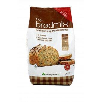 Preparado para pan con semillas de calabaza SUKRIN (1 kg)