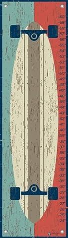 Oopsy Daisy Deck der Wand von Marcie Carson wachstumsdiagramme, 12von 107cm (Skateboard Boy Wand)
