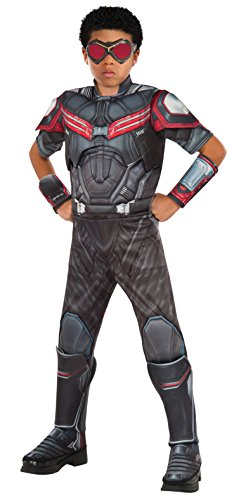 Marvel Captain America Civil War ~ Falcon Deluxe - Kids Costume 5 - 7 years (Falcon Captain America Kostüm)