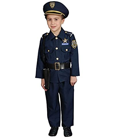 Dress up America Deluxe Police Officer Costume Set (M)