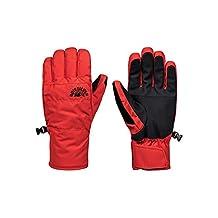 QUIKSILVER Erkek Cross Glove M GLOV NZG0 Eldiven, Kırmızı (Kırmızı 12809), (Üretici ölçüsü:L)