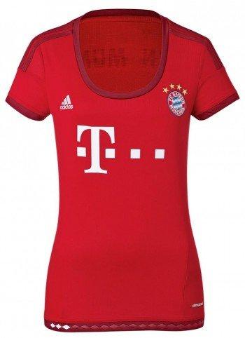 adidas FC Bayern Lahm Frauen Trikot Home 2016 rot L