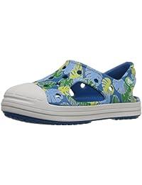 Crocs BumpIt Tropical Sandal K GGn/Oys 28EU