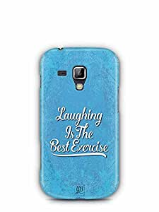 YuBingo Laughing is the Best Exercise Designer Mobile Case Back Cover for Samsung Galaxy S Duos 2