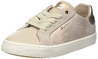 Geox Mädchen J Kilwi Low-Top D Sneaker, Weiß (White), 33 EU
