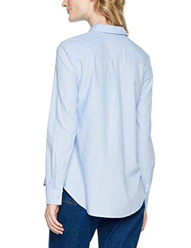 Tommy Jeans Damen Bluse TJW Original Light Oxford Shirt Blau (Serenity 400)