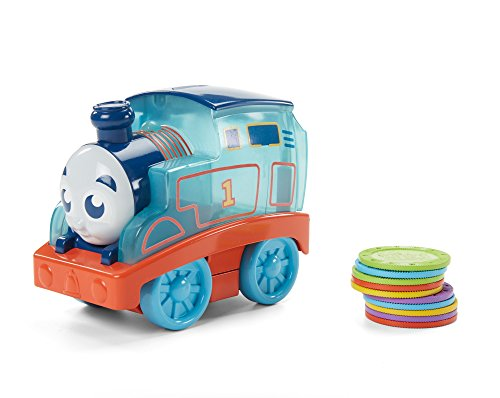 Thomas & Friends GDH54 My First Count with Me Thomas, Thomas the Tank Engine Toy Engine, My First Toy Train for Toddlers