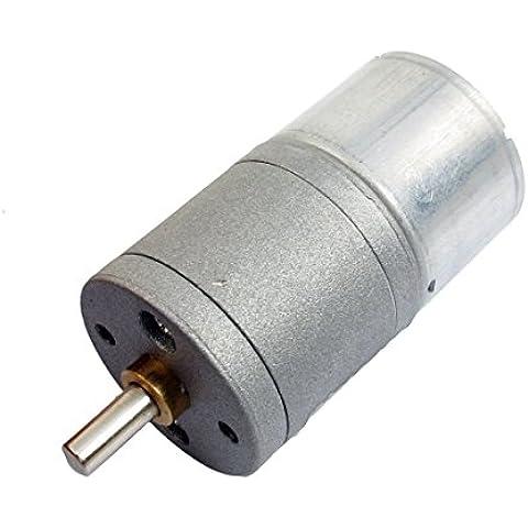4 mm Diámetro del eje de reemplazo DC 3V 20 rpm 0.45A 25GA eléctrico Motorreductor