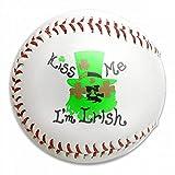 FFMMdogs Custom Kiss Me Im Irish Lucky Charm Baseball