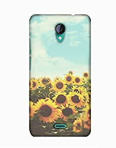 Pick Pattern Back Cover for Micromax A106 Unite 2 (Matte)