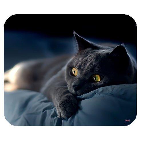 ifuoff Animal Design überrascht Katze Mousepad Gummi Mauspad 220mm x 180mm