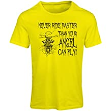 N4694F Camiseta mujer Motorcycle quotes sayings for bikers