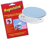 Magnetolink Magnet Doppel Klebepad Montage ohne Bohren - für Rauchmelder etc.
