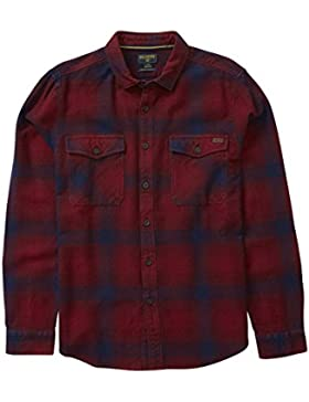 Billabong Ventura Flannel Ls Red L