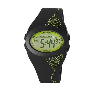 Kahuna KKD-0002M – Reloj para Hombres, Correa de Silicona Color Negro